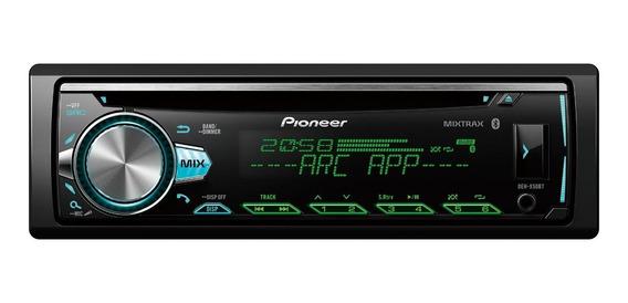 Som automotivo Pioneer DEH X50 com USB e bluetooth