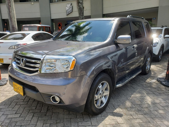 Honda Pilot 4x4 At 7ptos 2014 2014