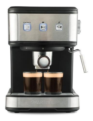 Imagen 1 de 6 de Cafetera Expreso 2en1 Smartlife 8501 Cáps Molido Ofic Cuotas