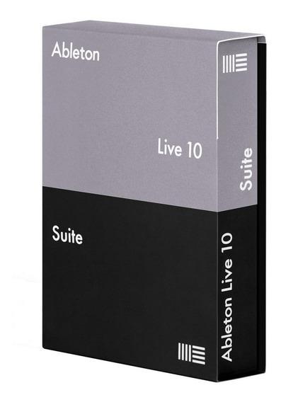 Ableton Live Suite 10   Oficial - Licença Original