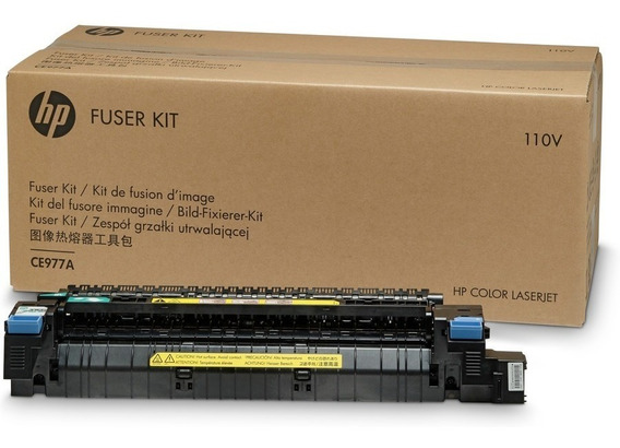 Fuser Kit Original Hp Clj Cp5525 Cp5520 M750 Ce977a ## 10/12