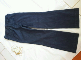Pantalón Mezclilla Tipo Pata De Elefante Mujer Talla 11
