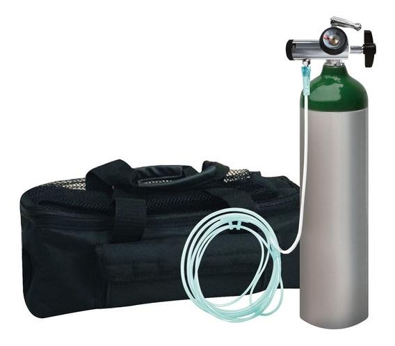 Tanque De Oxigeno Kit Completo Md 425 Litros Marca Oxiplus