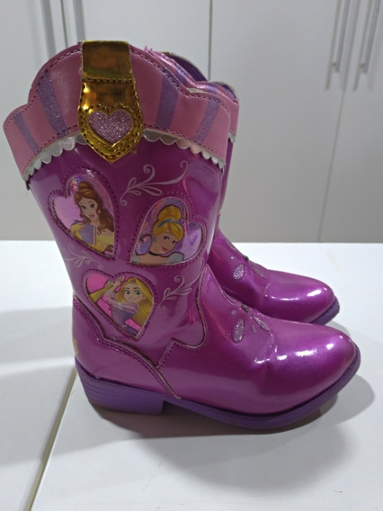 Bota Country Princesas Da Disney