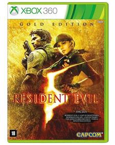 Jogo Resident Evil 5 Gold Edition - Xbox - Oferta