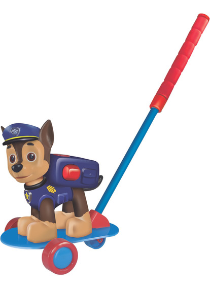 Carrinho De Empurrar Patrulha Canina Chase Licenciado