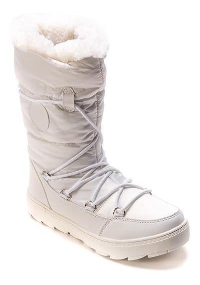 Bota Tipo Para Nieve Dama 579803 Textiles Muy Calientitas.