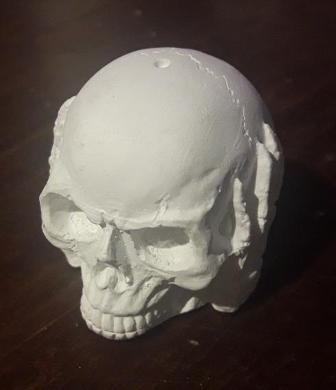Molde Silicona Craneo X1, Calavera, Calaca,cabeza Esqueleto