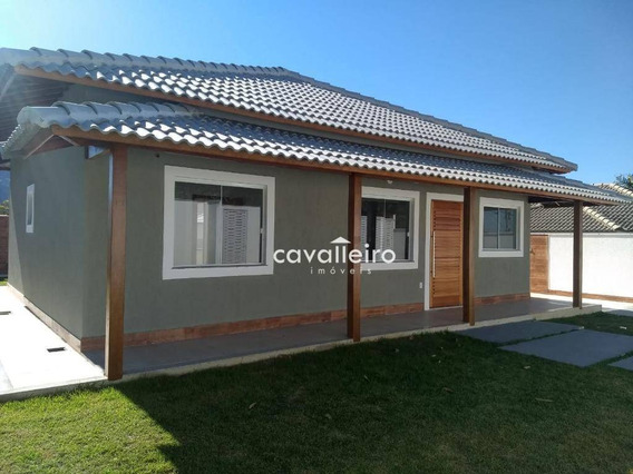 Casa Com 3 Dormitórios À Venda, 95 M² - Cajueiros (itaipuaçu) - Maricá/rj - Ca3683