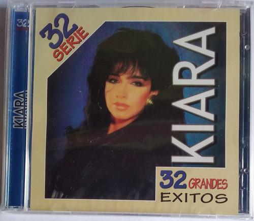 Kiara. Serie 32 Grandes Exitos. 2 Cds Originales, Nuevos