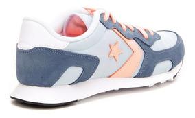 Zapatillas Converse Thunderbolt Azul Naranjo Mujer Nueva