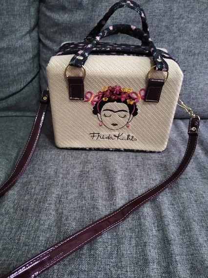 Bolsa Frida Kahlo Imitación Yute