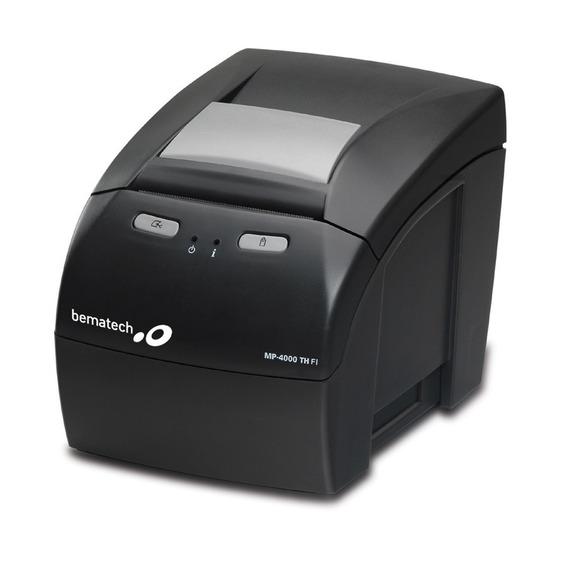 Impressora Fiscal Bematech Mp4000 Th Fi Sem Módulo Gprs