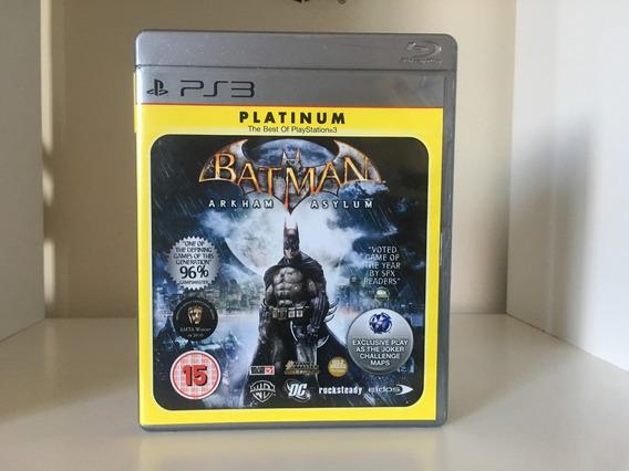 Batman Arkham Asylum - Ps3 - Mídia Física Original