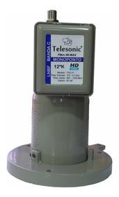 Lnbf Monoponto Telesonic P/ Midiabox -3,6 ~ 4,2 Com Filtro