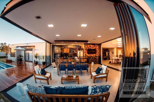 Imagem 1 de 30 de Casa Com 5 Dormitórios À Venda, 480 M² Por R$ 3.490.000,00 - Condomínio Fazenda Imperial - Sorocaba/sp - Ca0031
