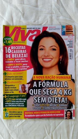 Revista Viva! Edição 537 2010 Patrícia Poeta