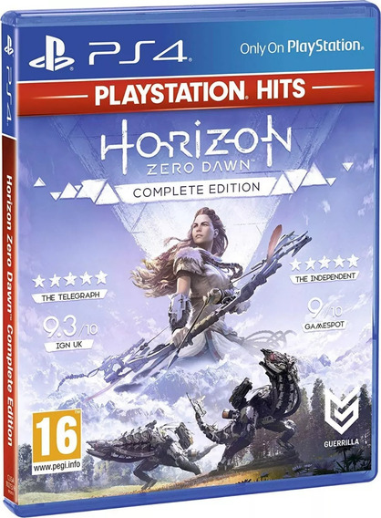 Horizon Zero Dawn Complete Edition Mídia Física - Ps4
