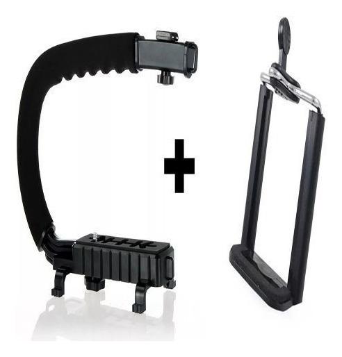 Kit Com Estabilizador Para Gravar Video Direto Do Celular