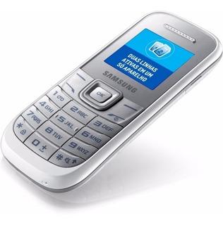 Celular Samsung Simples, 2 Chip, Com Lanterna, Com Radio Fm.