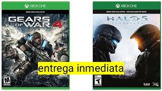 Combo Gears 4 + Halo 5 Xbox One Offline