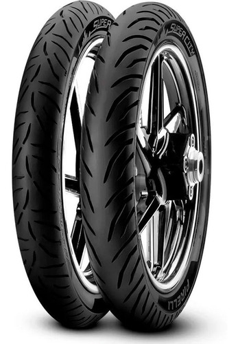 Cubiertas 80 100 18 + 90 90 18 Pirelli Super City S/cam Sti
