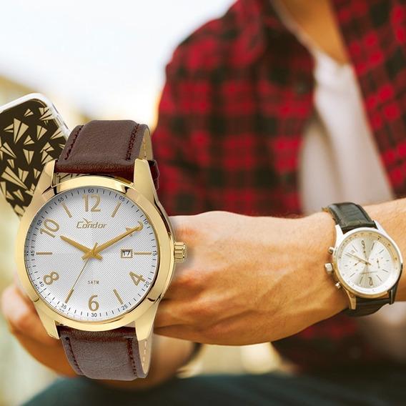 Relógio Masculino Condor Couro Co2115vl/2k