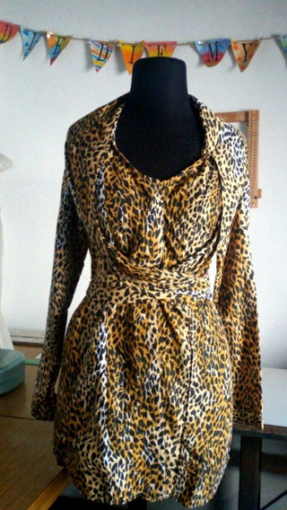 Camisa Animal Print Ay Not Dead Talle 2 (s)