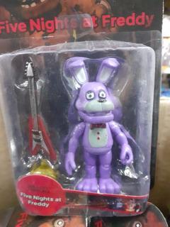 Muñecos Freddy El Oso. Bonnie Conejo Five Nights Chirimbolos