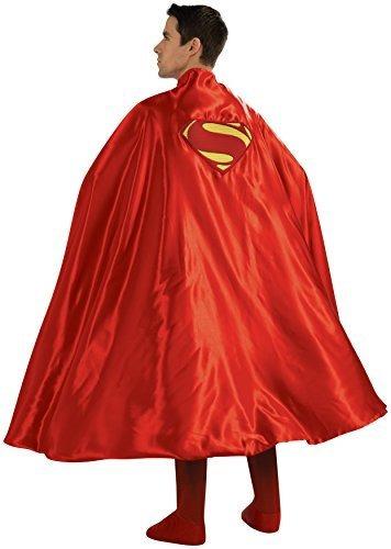 Imagen 1 de 1 de Capa Adulta De Lujo De Rubie's Cape Con Logotipo De Superman