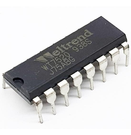 Circuito Integrado Wt7520 Pwm Completo-dip-16+envio