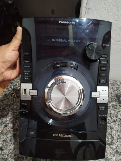Som Mini System Panasonic Sa-akx54 Peças