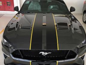 Mustang Gt Premium 2019 Baixo Km Igual Ao Novo - Cinza
