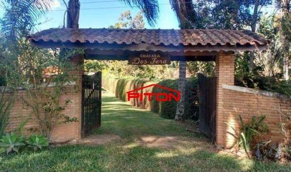 Chácara Com 3 Dormitórios À Venda, 2000 M² Por R$ 300.000,00 - Salto - Extrema/mg - Ch0026
