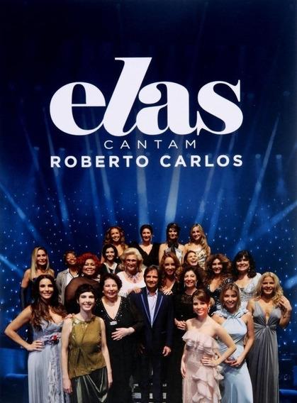 Dvd Roberto Carlos - Elas Cantam