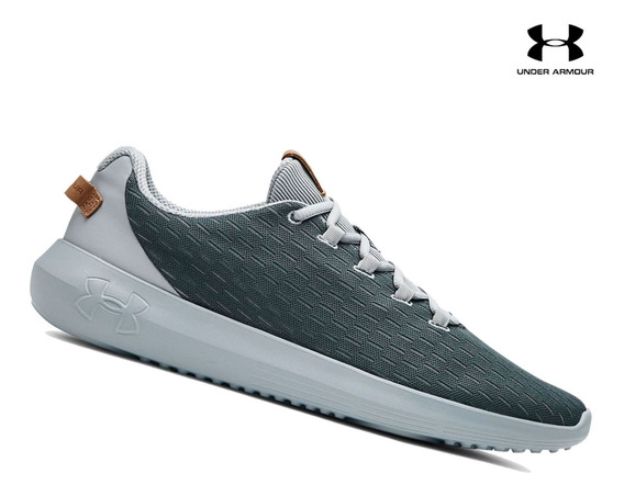 Zapatilla Under Armour Ripple Elevated Para Hombre - Plomo