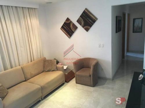 Apartamento Em Condomínio Padrão Para Venda No Bairro Saúde, 3 Dorm, 1 Suíte, 3 Vagas, 90 M². - 65