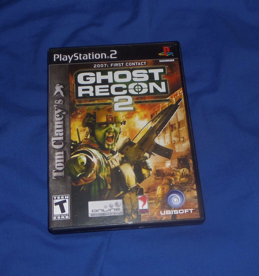 Ghost Recon 2 Original Ps2 Excelente Estado