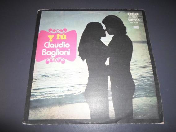 Claudio Baglioni - Y Tu * Disco De Vinilo