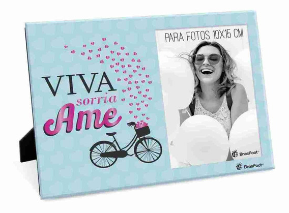 Porta Retrato - Frases - Viva Ame Sorria