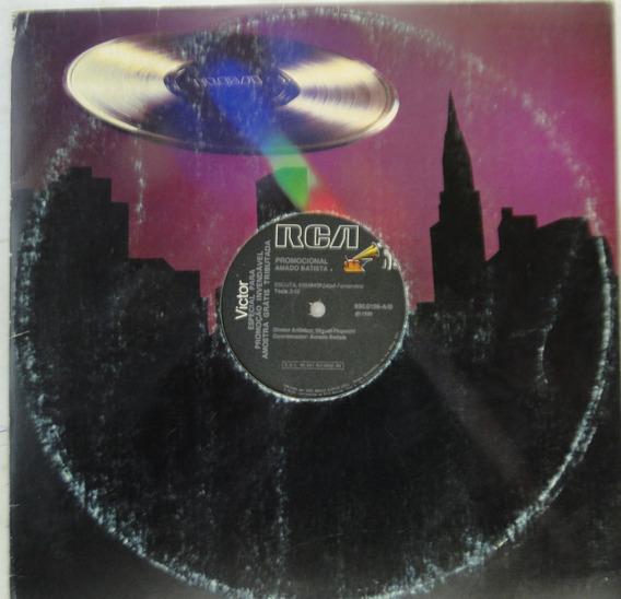 Lp Amado Batista - Escua - Disco Promocional Mix - A491
