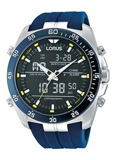 Lorus Rw617ax9 Reloj De Pulsera Caucciu