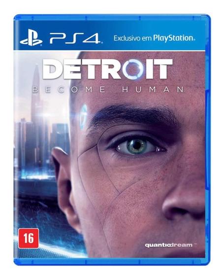 Jogo Detroit Become Hum Ps4 Mídia Física Envio Imediato