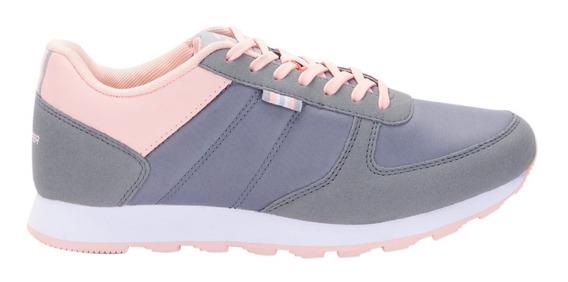 Zapatillas Topper T.350 Gri/ros De Mujer