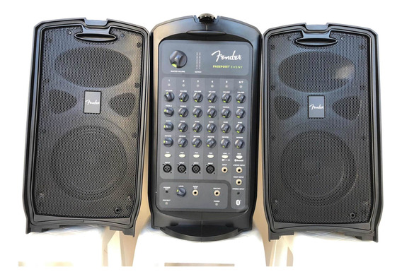 Fender Passaport Event 375w Sistema Portátil De Pa