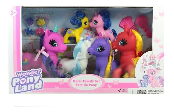 Familia De Unicornios 6 Pack ¡ofertas En Juguetes!