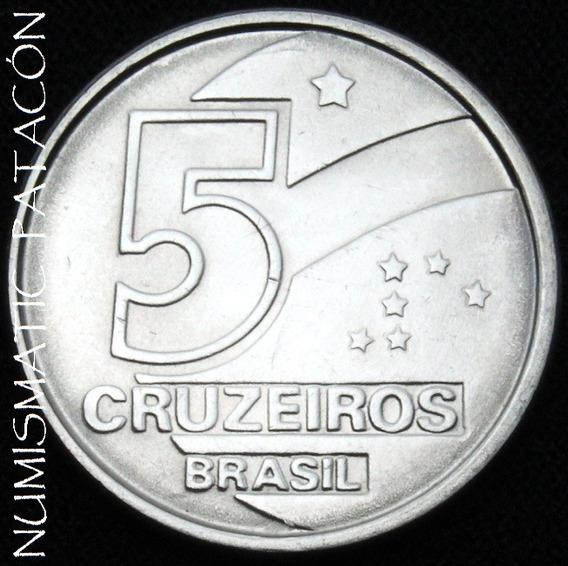 Moneda De Brasil 5 Cruzeiros 1991 - Excelente
