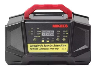 Cargador De Baterías Automátic Con Arran. 50 Amp 12v Cbaa-50