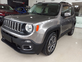 Jeep Renegade Longitude 1.8 2018 0km Al Mejor Precio Mas Uva