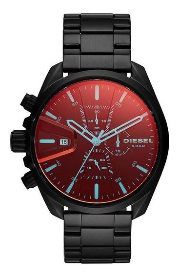 Relógio Diesel Masculino Ms9 Chrono Preto Dz4489/1pn